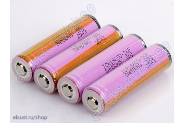 Samsung ICR18650-26FM Protected 2600mAh
