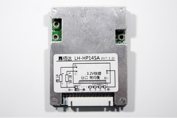 BMS 12s LiFePO4 3.6v 30A discharge 10A charge