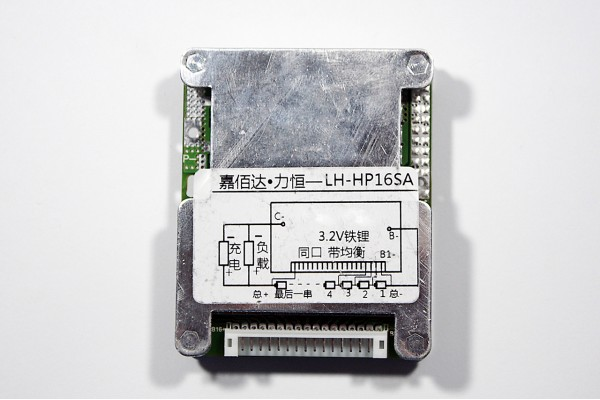 BMS 12s LiFePo4 3.6v 30A discharge 30A charge (HP16SA)