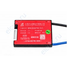 BMS 12s LiFePo4 3.6v 35A discharge 20A charge